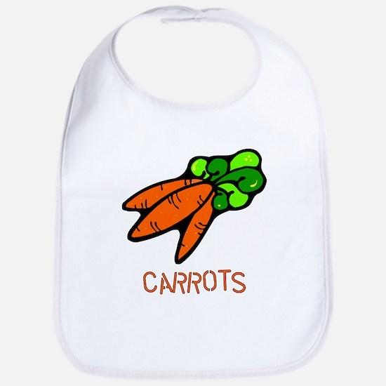 Twin Set -- Carrots Bib