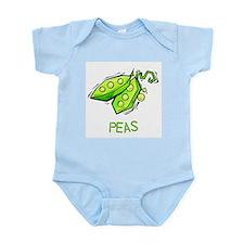 Twin Set -- Peas Infant Creeper