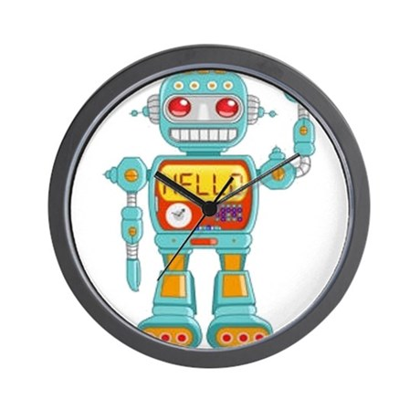 Hello Robo Wall Clock