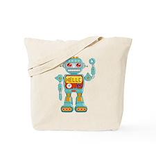 Hello Robo Tote Bag