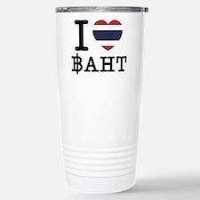 I Heart (Love) Baht Travel Mug