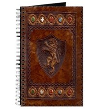 Hand Tooled Medieval Journal