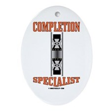 Completion Specialist Ornament(Oval)Oil,Gas