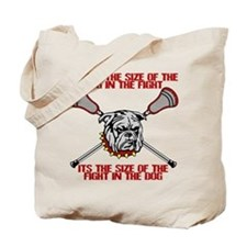 Lacrosse DogFight Tote Bag