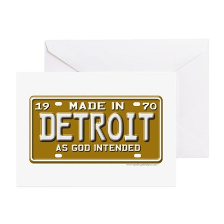 Made in Detroit Greeting Cards (Pk of 10)