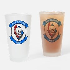 VFA-34 Blue Blasters Drinking Glass