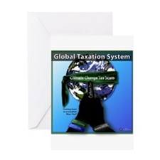 Global Tax Scam Greeting Card