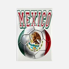 Futbol Mexicano Rectangle Magnet