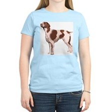 Standing Brittany Portrait T-Shirt