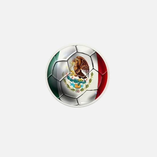 Futbol Mexicano Mini Button