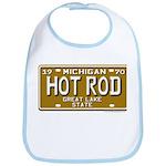 Hot Rod License Plate Bib