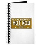 Hot Rod License Plate Journal