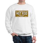 Hot Rod License Plate Sweatshirt