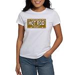 Hot Rod License Plate Women's T-Shirt