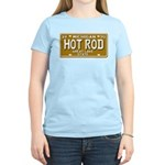 Hot Rod License Plate Women's Pink T-Shirt