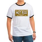 Hot Rod License Plate Ringer T
