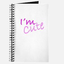 I'm Cute Journal