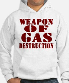 Weapon of Gas Destruction Hoodie