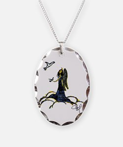 Angel & Doves Necklace