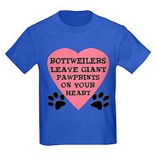 Rottweiler Pawprints T