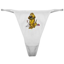 Grinning Dog Dead Chicken Classic Thong