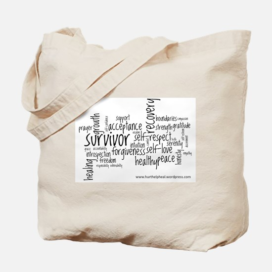 Hurt Help Heal Tote Bag