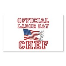 Labor Day Chef Decal