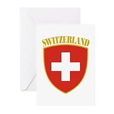 Switzerland Greeting Cards (Pk of 10)