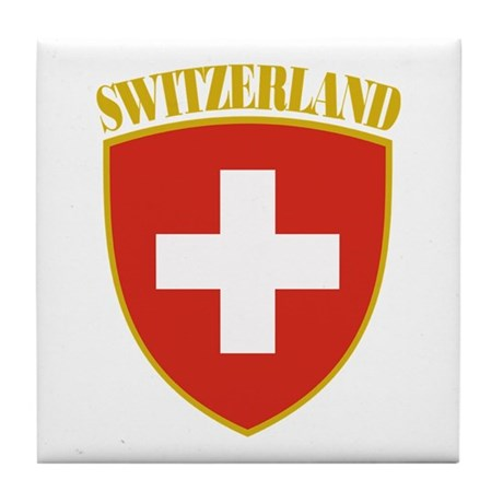 Switzerland Tile Coaster