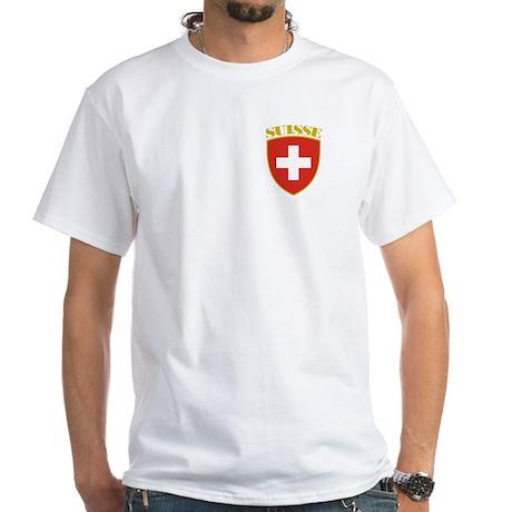 Suisse White T-Shirt