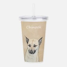 Chinook (Pointed Ears) Acrylic Double-wall Tumbler