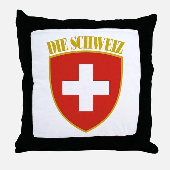 Die Schweiz Throw Pillow