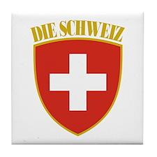 Die Schweiz Tile Coaster