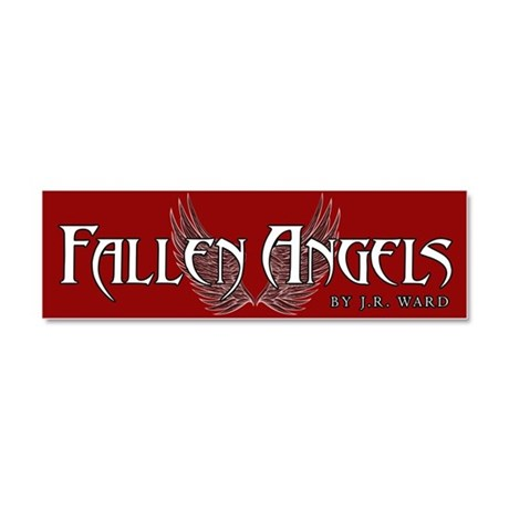 Fallen Angels Red Car Magnet