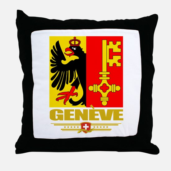 Geneve/Geneva Throw Pillow