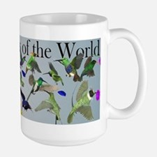 Hummingbirds of the World Large Mug