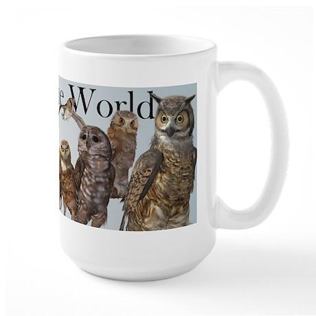 Owls of the World Large Mug