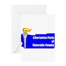 Riverside Libertarians Greeting Card