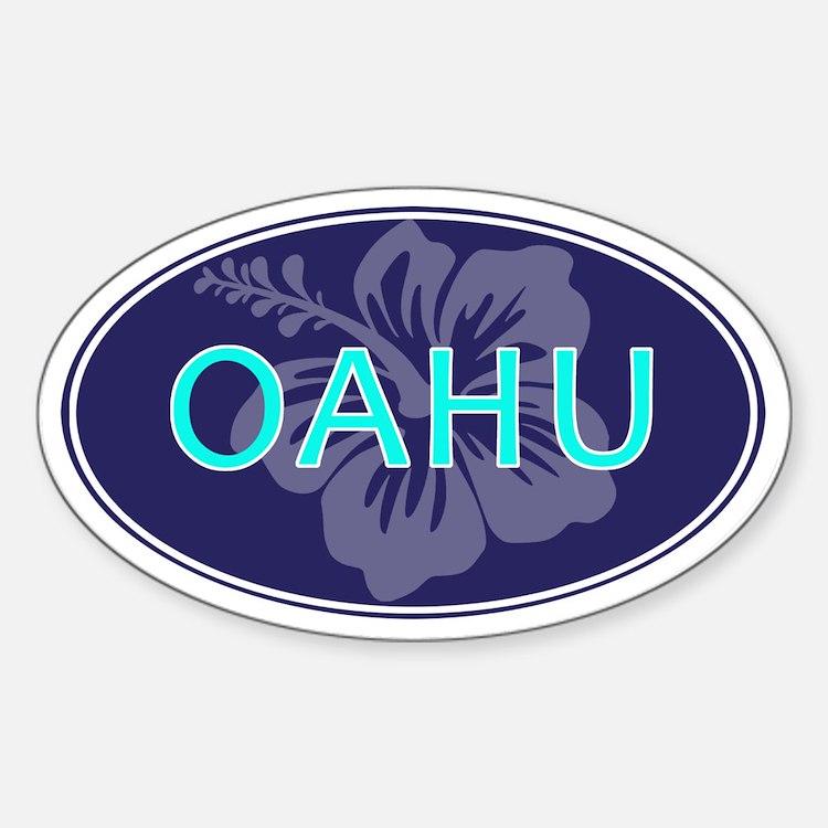 OAHU, HAWAII - Decal