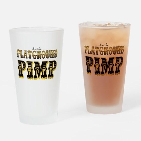 Playground Pimp Drinking Glass