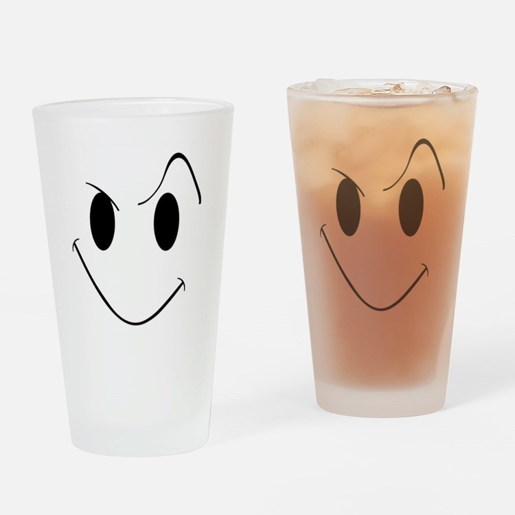 My Evil Grin Drinking Glass