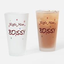 Miss Bossy Drinking Glass
