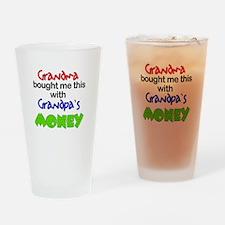 Grandpa's Money Drinking Glass