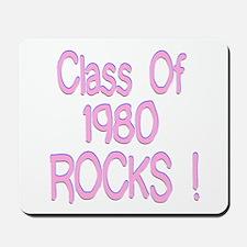 1980 Pink Mousepad