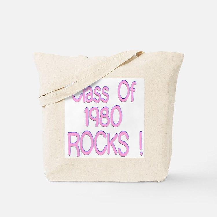 1980 Pink Tote Bag