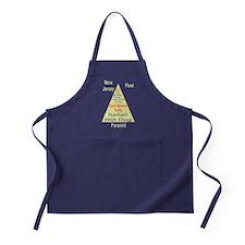 New Jersey Food Pyramid Apron (dark)