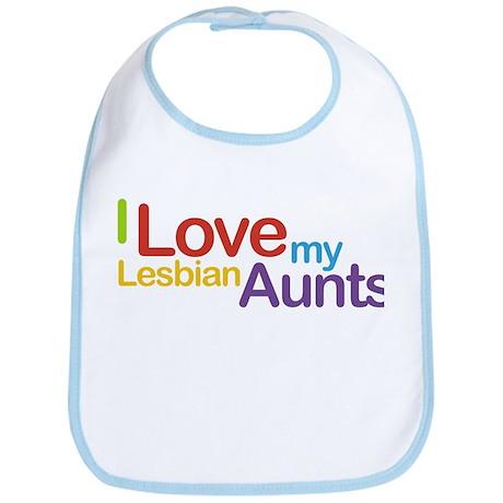 """I love my lesbian aunts"" Bib"