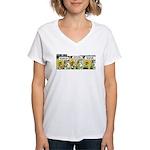 0384 - Fly like you've ... Women's V-Neck T-Shirt