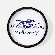 16 Oaks Wall Clock