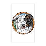 Skeeter's Tri Rectangle Sticker
